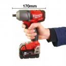 Milwaukee M18 Fuel a batteria